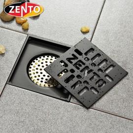 Thoát sàn chống mùi Black series Zento ZT570-1B (120x120mm)